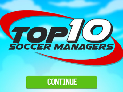 Top 10 Soccer Managers oнлайн-игра
