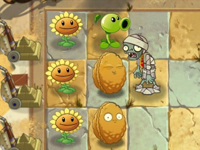 Plants vs Zombies 2 online hra