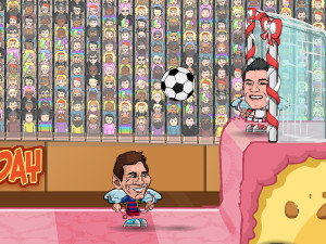 Football Legends Valentine Edition online hra