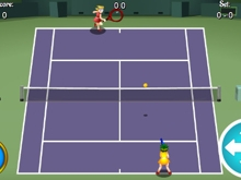 Tennis HTML5 online game
