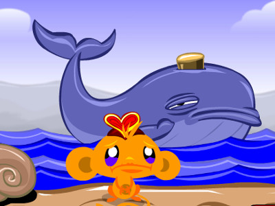 Monkey Go Happy Hearts online game