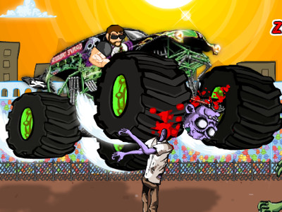 Monster Truck Zombie Crusher online game