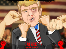 Epic Celeb Brawl: Punch the Trump online game
