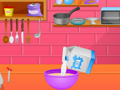 Cook Tasty Cake online game