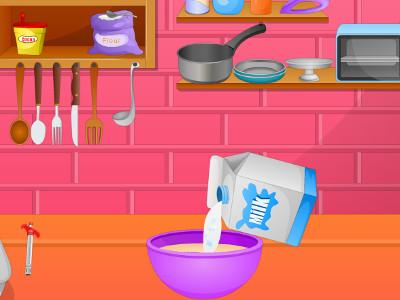 Cook Tasty Cake online hra