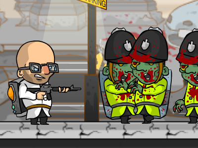 Zombie Cops of London oнлайн-игра