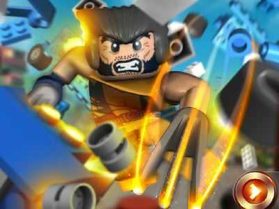LEGO Marvel X-Men Wolverine oнлайн-игра
