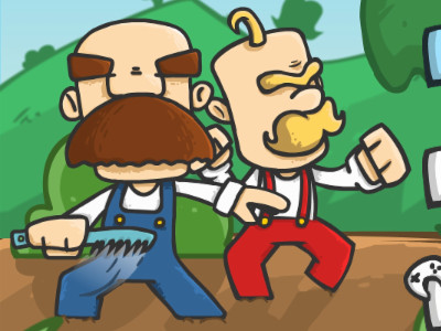 Mustache World online game