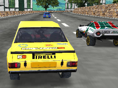 Super Rally 3D online hra