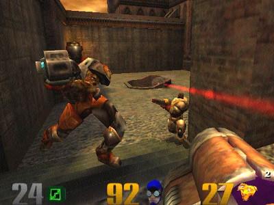Quake 3: Arena online hra
