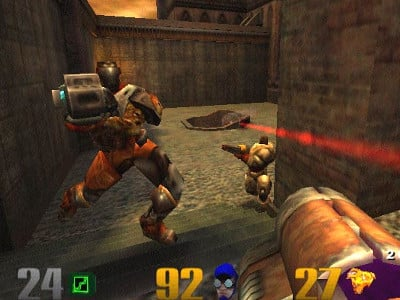 Quake 3: Arena juego en línea