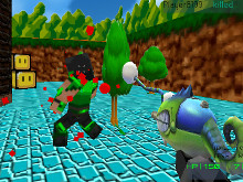 Paintball Fun: 3D pixel  online hra