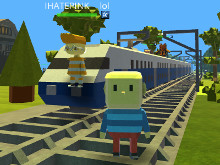 Kogama: Train Rail 2016 online game