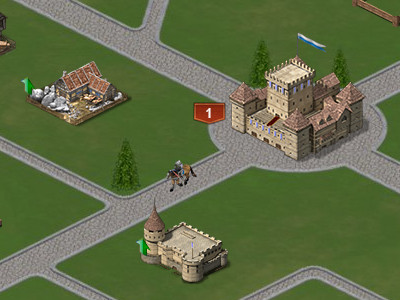 Castles and Kingdoms: War Fire online hra