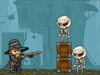 Van Helsing vs Skeletons 2 online game
