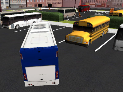 Bus Parking 3D online game
