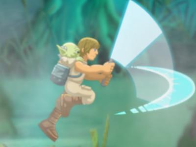 Yoda Jedi Training online hra