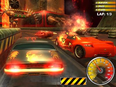 Lethal Brutal Racing online hra