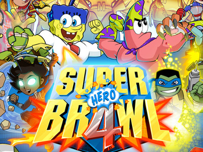 Super Brawl 4: Hero online hra
