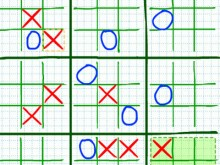 Strategic Tic-Tac-Toe online hra