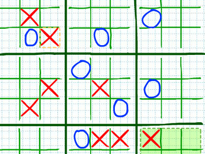 Strategic Tic-Tac-Toe online game