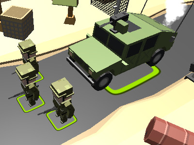 Blocky Army online game
