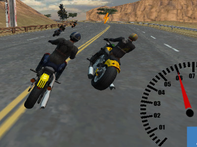 Bike Riders online hra