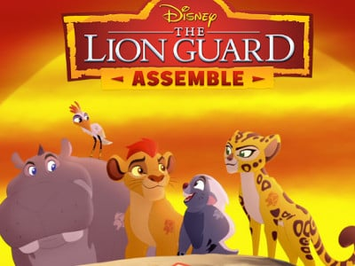 The Lion Guard online hra