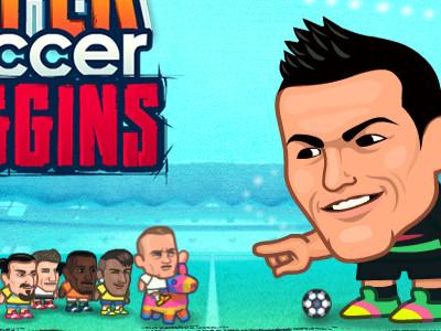 Super Soccer Noggins online hra