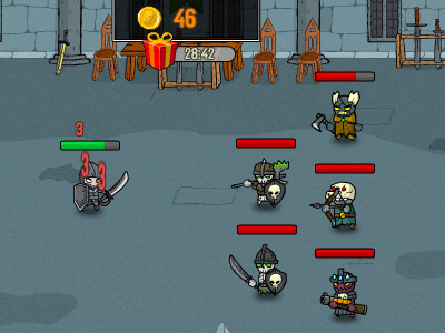 Clicker Troops online game