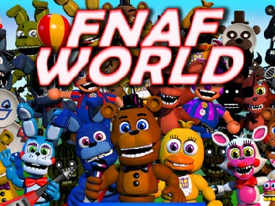 FNaF World online hra