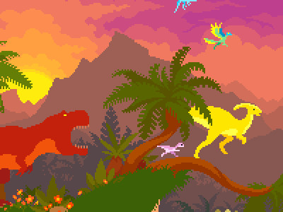 Dino Run online game