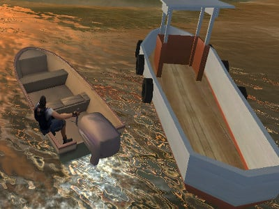 Real Boat Parking 3D online hra