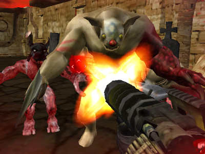 Cemetery Warrior online game