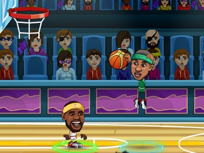 Basketball Legends online hra
