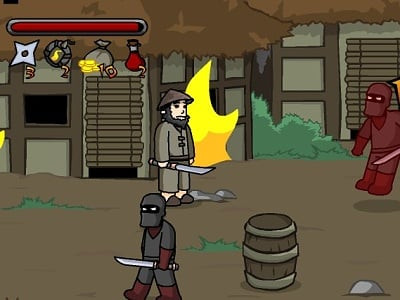 Ninja Brawl online hra