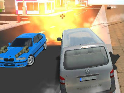 Crunched Metal: Drifting Wars online game