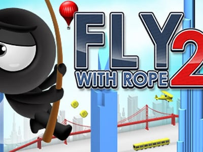 Fly with Rope 2 online game
