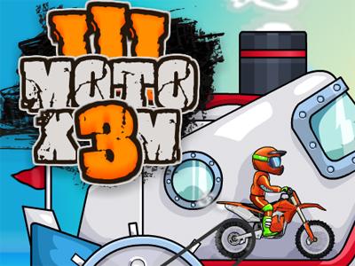 Moto X3m 3 online game