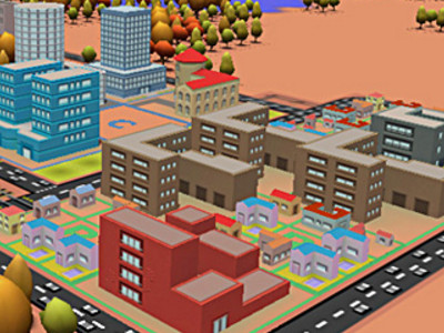 3D City Builder online hra