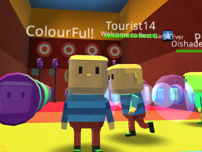 Kogama: ColourFul Parkour online game
