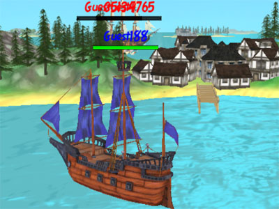 The Caribbean Sea 3D online game
