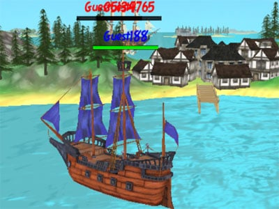 The Caribbean Sea 3D oнлайн-игра