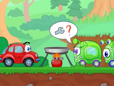 Wheely 8: Aliens online game