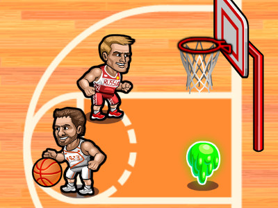 Basketball Fury online hra