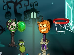 Halloween Basketball Legends online hra