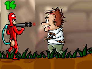 Doodieman Bazooka online game