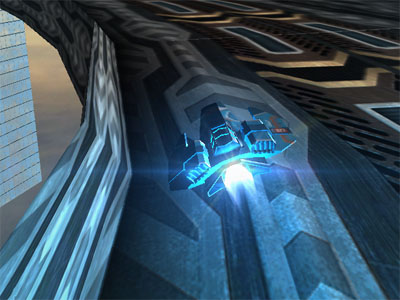 HexGL online hra