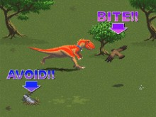 One Man and His Dinosaur online game