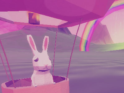 Where Bunnies Fly online game